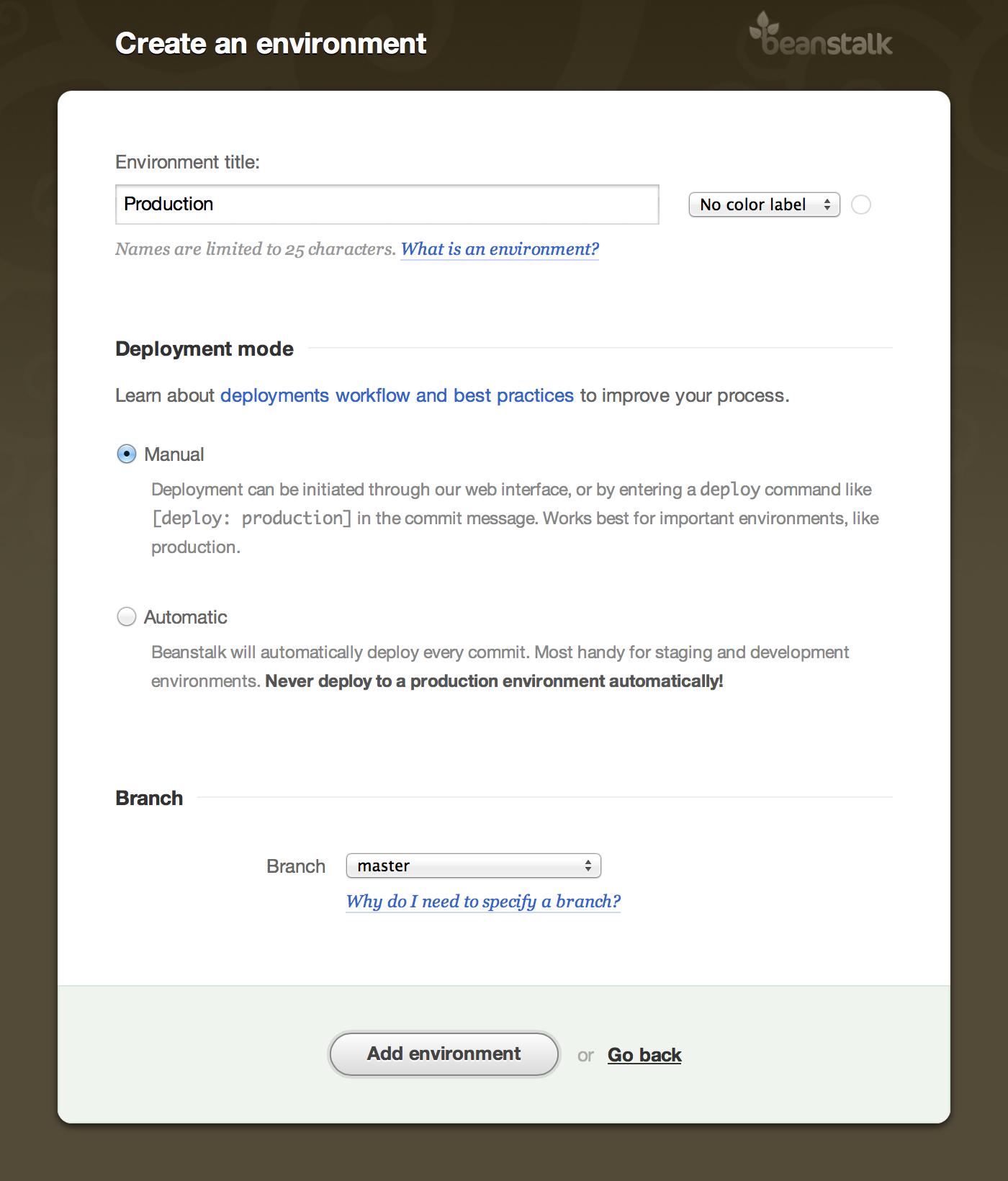 Deploy your  NET & ASP NET Application • Beanstalk Guides